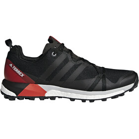 adidas TERREX Agravic Shoes Men Core Black/Carbon/Hi-Res Red